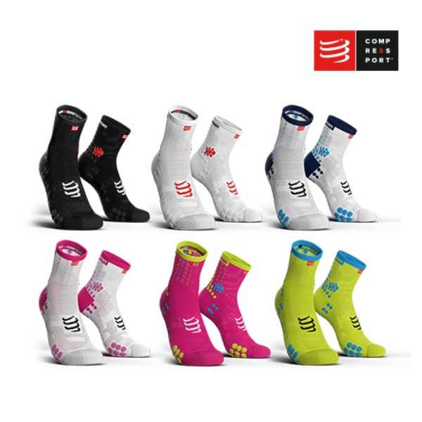 [컴프레스포트] PRO RACING SOCKS v3.0 RUN HIGH CUT_